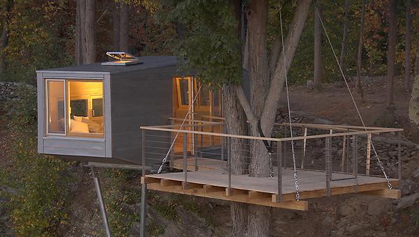 Baumhäuser im Ausland